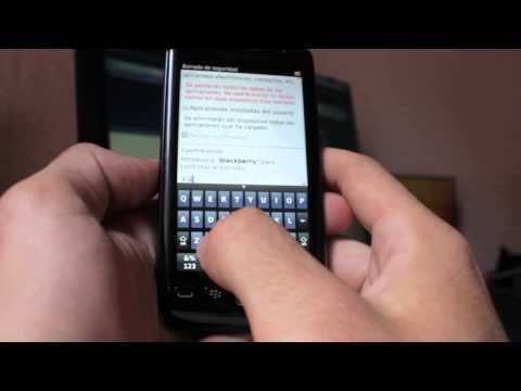 Resetear / Reestablecer / Hard reset Blackberry 9860 - Phone&Cash