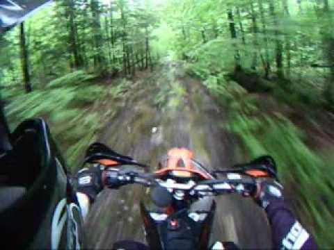 2009 KTM 530 EXC Trail Riding