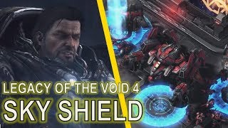 Starcraft II Legacy of the Void Mission 4 - Sky Shield