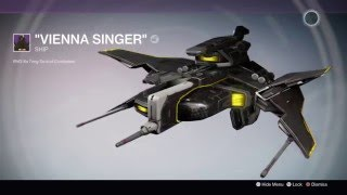 Destiny - Vienna Singer Ship Can Now Drop After Multiple Black Spindle Clears