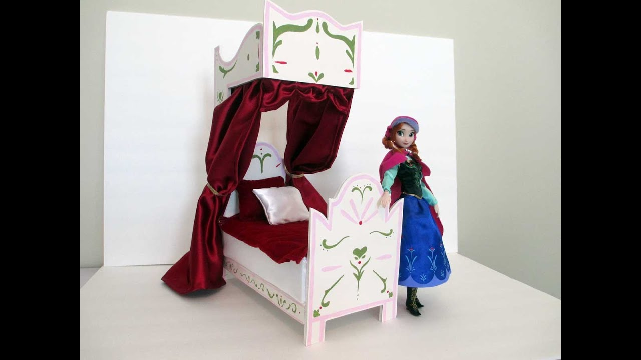 How To Make A Bed For Your Elsa Doll