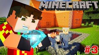 Minecraft Sinh Tồn #3 | ĐÀO ĐƯỢC KIM CƯƠNG VÀ XÂY HỒ BƠI | KiA Phạm (w/ Vamy Trần)