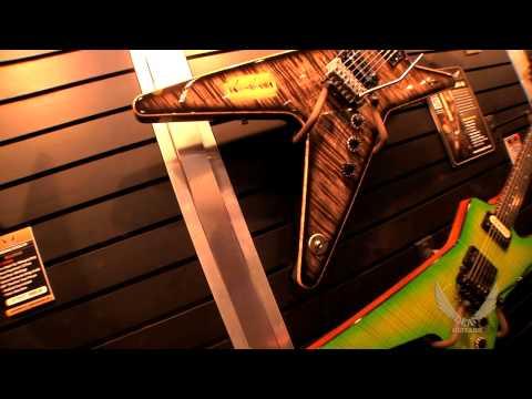 """Dean Guitars 2014 N.A.M.M. Highlights - Dimebag """"Roots"""" ML and STEALTH Floyd """"Dime Slime"""""""