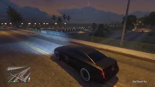 Grand Theft Auto V_ Driving reckless in santa monica area