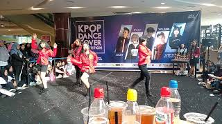 F(x) - Electric Shock + 4Walls (Dance Cover by Red Venus) at Gramedia World Palemvang 2019