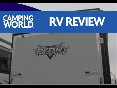2017 Vengeance 25V RV Review   Toy Hauler   Travel Trailer   Mocha   Ian Baker