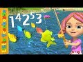12345 Once I Caught a Fish Alive | Number Song for Kids | Nursery Rhymes by Little Treehouse