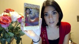 LIBRA weekly Angel Oracle Card Reading March 21-27, 2016