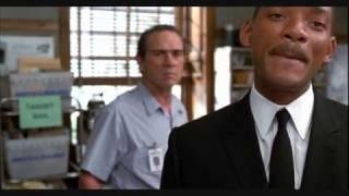Men In Black (MIB) Aliens work in the PostOffice