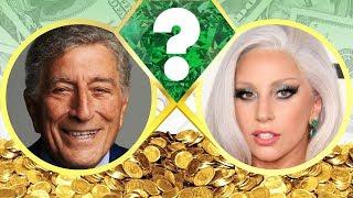 WHO'S RICHER? - Tony Bennett or Lady Gaga? - Net Worth Revealed! (2017)