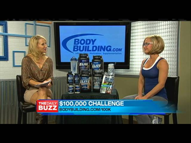 The Daily Buzz Interviews Jamie Eason - 2013 Bodybuilding.com $100,000 Transformation Contest