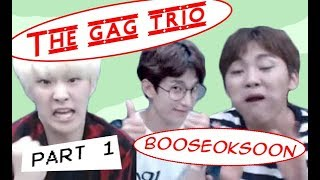 SEVENTEEN The Gag trio: booseoksoon