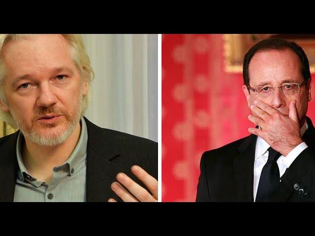 Non! France rejects Assange's asylum request