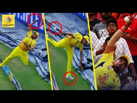 Karan Sharma's Stunning Fielding Performance |  CSK Vs   SRH Highlights | IPL 2018