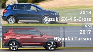 2018 Suzuki SX-4 S-Cross vs 2017 Hyundai Tucson (technical comparison)