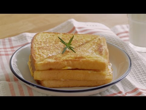 [4K VIDEO] Korean Drama 'A Hungry Woman' - Cheese Monte Cristo Easy recipe : Honeykki 꿀키