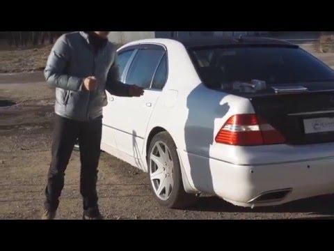 Обзор авто пленки после 3-х лет эксплуатации, Lexus LS430