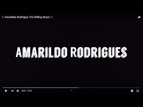 Amarildo Rodrigue - The Killing Moon
