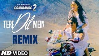 Commando 2: Tere Dil Mein (Club Mix) | Vidyut Jammwal, Adah Sharma, Esha, Freddy | Armaan Malik