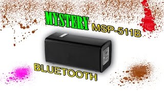 MYSTERY MSP - 511B bluetooth акустика