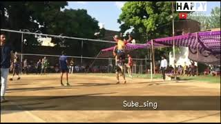 Best Volleyball Tournament Highlight In Punjab 2019 (Rohit Rana,Kanni,Suba Singh,Akshay