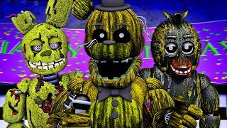 Five Nights at Freddy's Song (FNAF 3 Phantom SFM)(µThunder Remix)