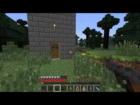Minecraft how to make guns (XBOX) NO MODS