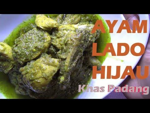 Resep Masakan Ayam Lado Hijau (khas padang)