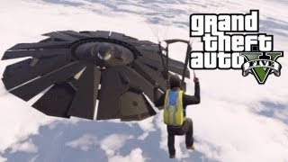 GTA 5 - Flying UFO Easter Egg #2! (Grand Theft Auto 5 Easter Eggs)
