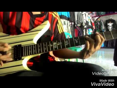 Gitar cover THE LAKNAT-Antara hidup & mati (Live At performance DISTRO OJ)
