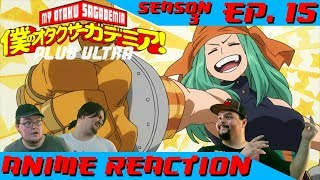 Anime Reaction: Boku no Hero Academia Ep. 53 (3x15)