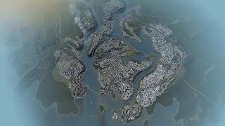 Cities Skylines - Time lapse - 0 to 238k population