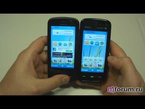 Обзор Nokia C6 - ОС и сравнение с Nokia 5800
