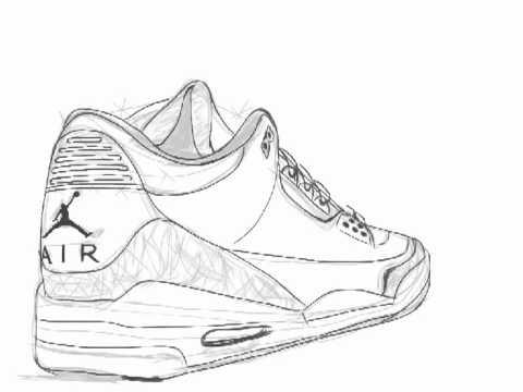 Jordans Drawing Air Jordan Retro 3