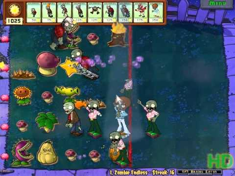 Plants vs Zombies - I,Zombie Endless Streak 11 - 20 Music Videos