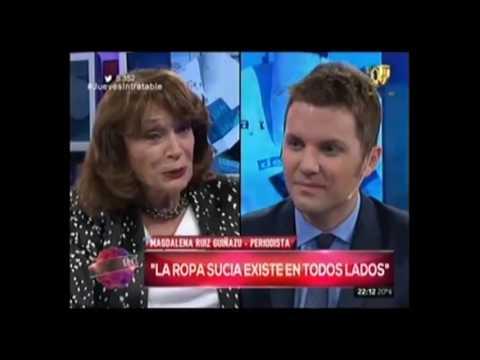 Reportaje a Magdalena Ruíz Guiñazú