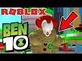 Roblox Ben 10 BECOMING PENNYWISE AND DEFEATING ALL ALIENS INSTANTLY! (Ben 10 Arrival Of Aliens)