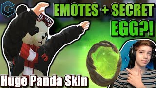 STRANGE ROS UPDATE! ZOMBIE Panda + Mysterious Egg! // Rules of Survival