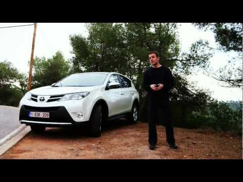 New Toyota RAV4 2013 - Which? Car first drive