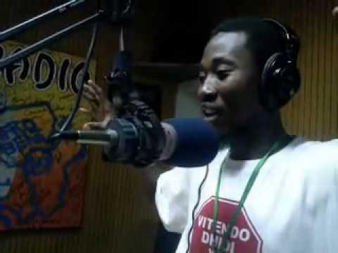 NASH EMCEE - East Africa Radio.mp4,Akizungumzia Santuri Yake Ya Mzimu Wa Shaaban Robert!