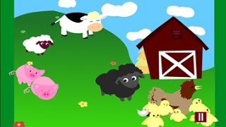 Animals Farm movie funny educational videos for kids English