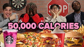 We Tried To Eat 50,000 Calories In 24 Hours