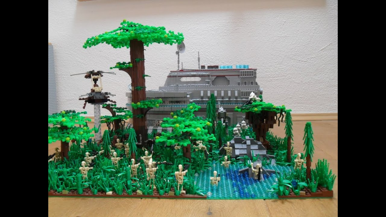 how to make a lego army base from scratch