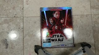 Star Wars : EP. VIII The last Jedi Unboxing