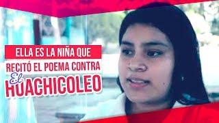 Ella es la niña que se hizo viral por recitar un poema contra el huachicoleo | Francisco Zea