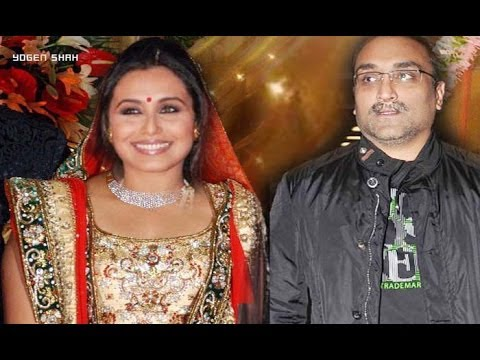 Rani Mukherji Marriage in Italy with Aditya Chopra : Rani Mukherji , Aditya Chopra  Wedding