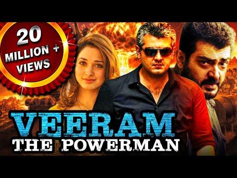 Veeram The Powerman (Veeram) Hindi Dubbed Full Movie   Ajith Kumar, Tamannaah thumbnail