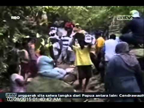 [ANTV] TOPIK, Warga Rebutan Menambang Batu Akik Raksasa
