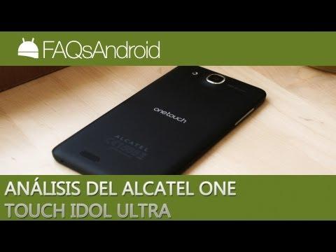 Análisis del Alcatel One Touch Idol Ultra en español   FAQsAndroid.com