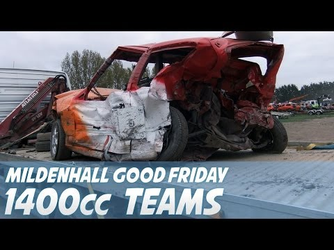 Mildenhall Good Friday 1400cc Teams 18/04/14